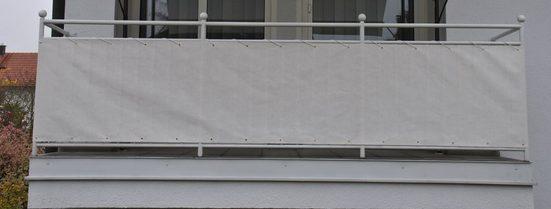 ANGERER FREIZEITMÖBEL Wind- und Sichtschutz Meterware, beige, H: 75 cm