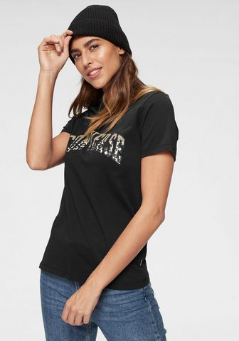 CONVERSE Marškinėliai »VARSITY LEOPARD raštas š...