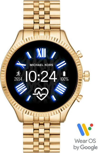 Smartwatches - MICHAEL KORS ACCESS LEXINGTON 2, MKT5078 Smartwatch (1,19 Zoll, Wear OS by Google, mit individuell einstellbarem Zifferblatt)  - Onlineshop OTTO