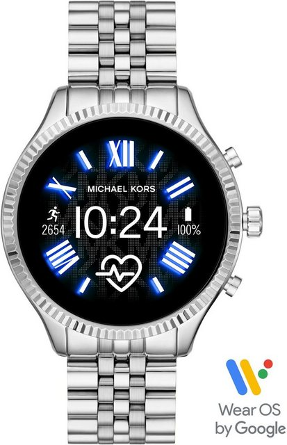 Smartwatches - MICHAEL KORS ACCESS LEXINGTON 2, MKT5077 Smartwatch (1,19 Zoll, Wear OS by Google, mit individuell einstellbarem Zifferblatt)  - Onlineshop OTTO