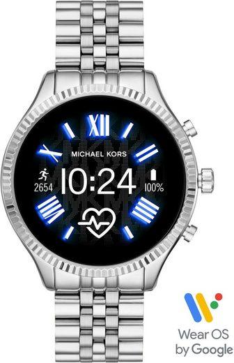 MICHAEL KORS ACCESS LEXINGTON 2, MKT5077 Smartwatch (1,19 Zoll, Wear OS by Google, mit individuell einstellbarem Zifferblatt)