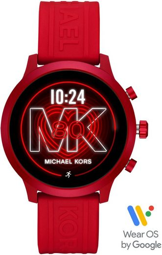 MICHAEL KORS ACCESS MKGO, MKT5073 Smartwatch (1,19 Zoll, Wear OS by Google, mit individuell einstellbarem Zifferblatt)