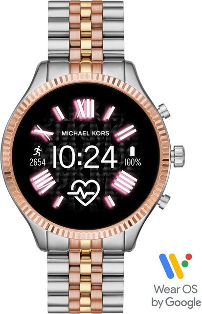 Smartwatches - MICHAEL KORS ACCESS LEXINGTON 2, MKT5080 Smartwatch (1,19 Zoll, Wear OS by Google, mit individuell einstellbarem Zifferblatt)  - Onlineshop OTTO