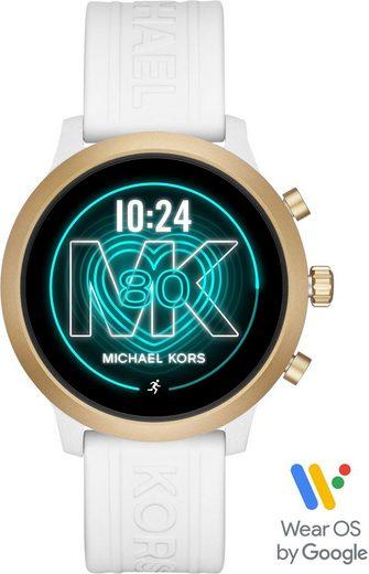 MICHAEL KORS ACCESS MKGO, MKT5071 Smartwatch (1,19 Zoll, Wear OS by Google, mit individuell einstellbarem Zifferblatt)