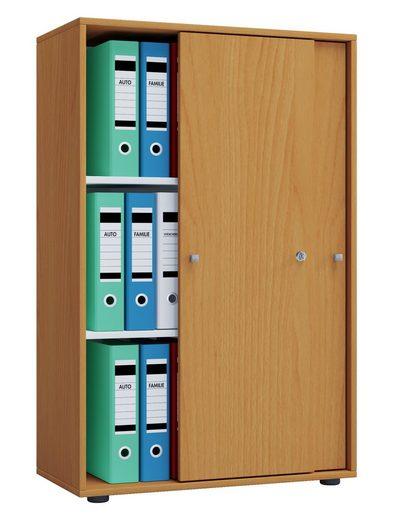 VCM Büroschrank Lona 3-fach mit Schiebetüren