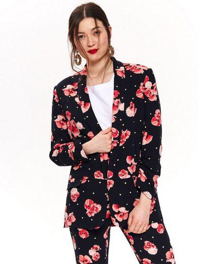 TOP SECRET Blazer mit tollem Blütendruck