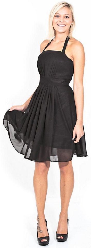 Avamia Cocktailkleid Avamia Kleid 8700 Cocktailkleid Festliches Chiffon Abendkleid Chiffonkleid Kleid Festtagskleid Festtagsmode Knielang Online Kaufen Otto