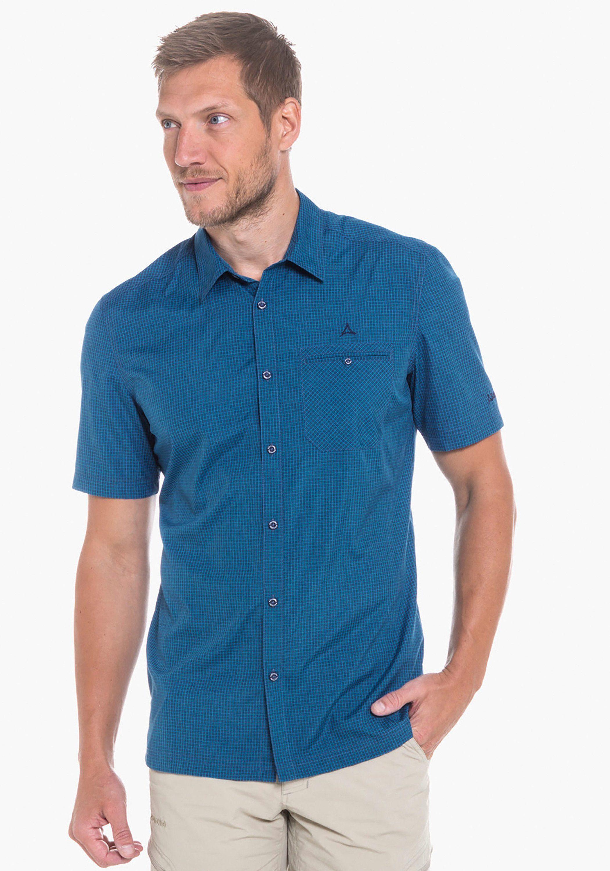 Herren Schöffel Outdoorhemd »Shirt Bregenzerwald« blau, weiß | 04060647552030
