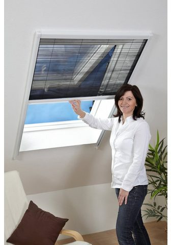 hecht international Insektenschutz-Dachfenster-Rollo weiß/...
