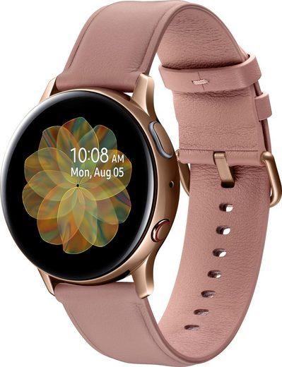 Samsung Galaxy Watch Active2 Edelstahl, 40 mm, LTE & Bluetooth (SM-R835) Smartwatch (3 cm/1,2 Zoll)