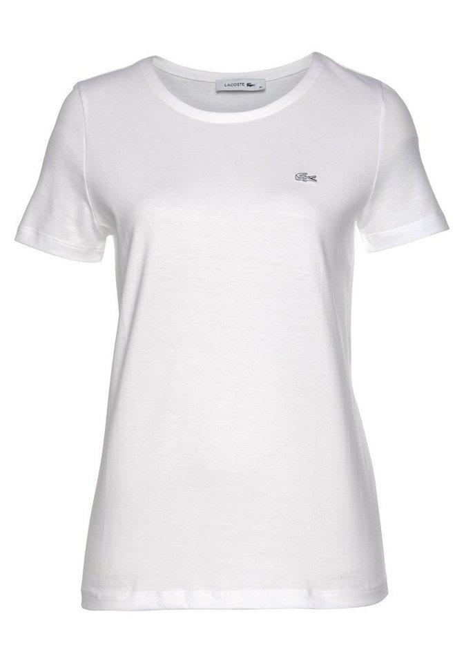 pretty nice 59785 42bcc Lacoste T-Shirt mit kleinem Lacoste-Logo auf der Brust online kaufen   OTTO
