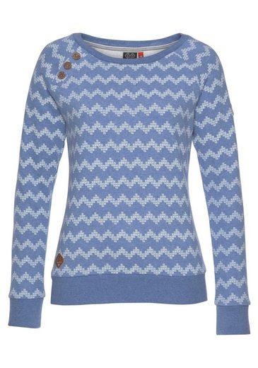 Ragwear Sweatshirt »DARIA« vegan hergestellt
