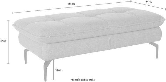 exxpo - sofa fashion Hocker  Komfortable Wellenunterfederung