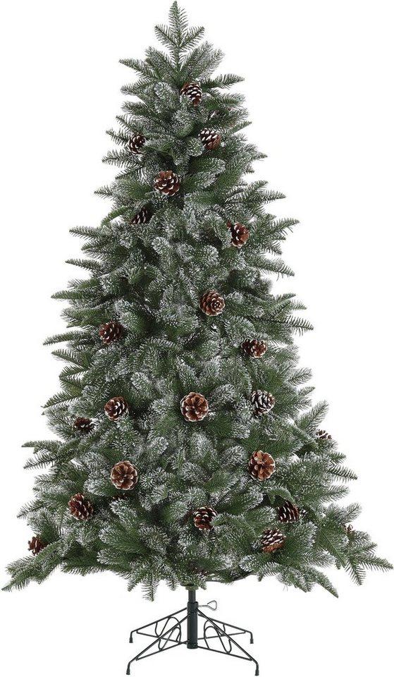 home affaire k nstlicher weihnachtsbaum mit leicht. Black Bedroom Furniture Sets. Home Design Ideas