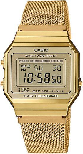 CASIO VINTAGE Chronograph »A700WEMG-9AEF«