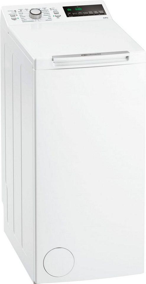 bauknecht waschmaschine toplader wat 6312 1200 u min. Black Bedroom Furniture Sets. Home Design Ideas