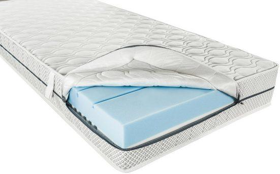 Komfortschaummatratze »Doppelkomfort Duo-Performance«, DI QUATTRO, 20 cm hoch, Raumgewicht: 33, Ideales Microklima durch hohe Atmunsaktivität