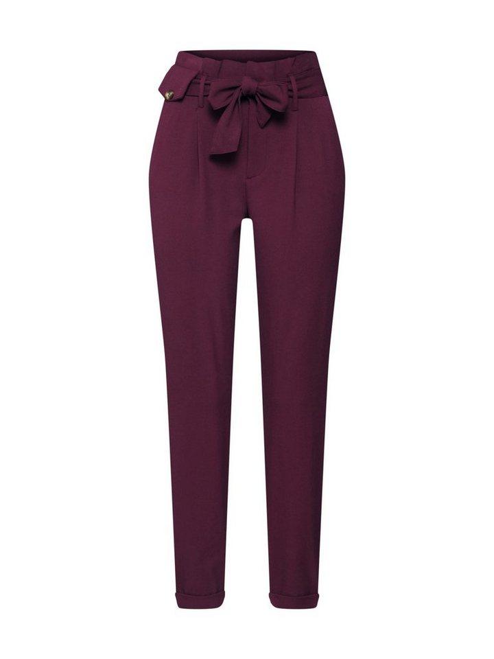 Only Bügelfaltenhose »ONLADA HW PAKERBACK PANT« | Bekleidung > Hosen > Bügelfaltenhosen | Rot | Only
