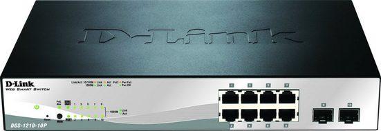 D-Link Switch »DGS-1210-10P 10-Port PoE Gigabit Smart Managed«