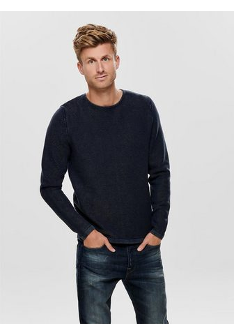 ONLY & SONS ONLY & SONS Detailreicher Megztinis