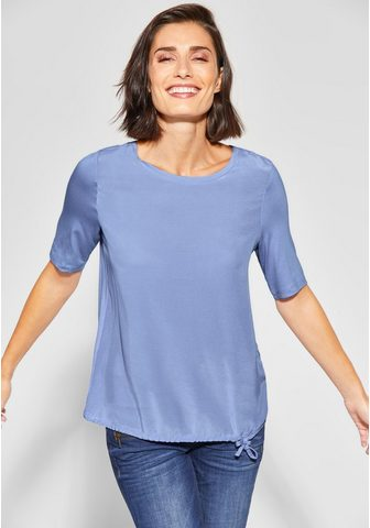 STREET ONE Блуза с круглым вырезом