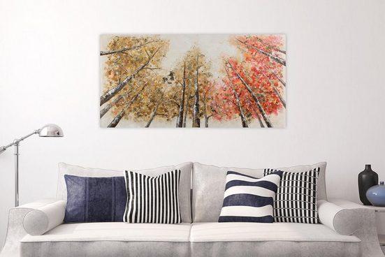 KUNSTLOFT Gemälde »Magie im Wald«  handgemaltes Bild auf Leinwand