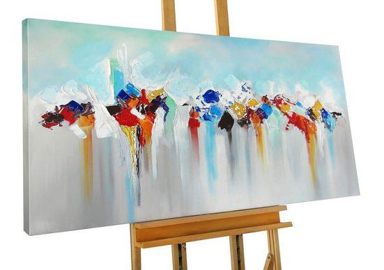 KUNSTLOFT Gemälde »Aftermath«, handgemaltes Bild auf Leinwand