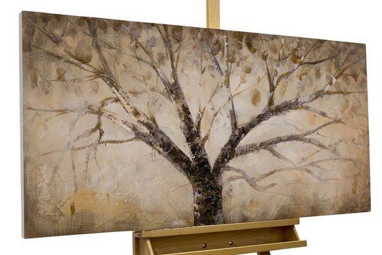 KUNSTLOFT Gemälde »Der weise Baum«, handgemaltes Bild auf Leinwand