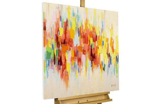 KUNSTLOFT Gemälde »Wet Paint«, handgemaltes Bild auf Leinwand