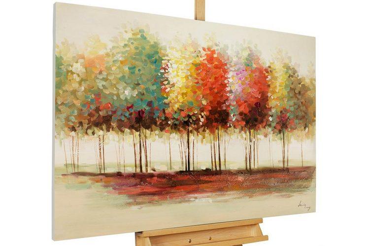 KUNSTLOFT Gemälde »Gradient«, handgemaltes Bild auf Leinwand