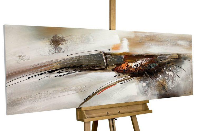 KUNSTLOFT Gemälde »Bridge to you«, handgemaltes Bild auf Leinwand