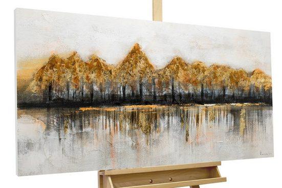 KUNSTLOFT Gemälde »Gipfelstürmer«, handgemaltes Bild auf Leinwand