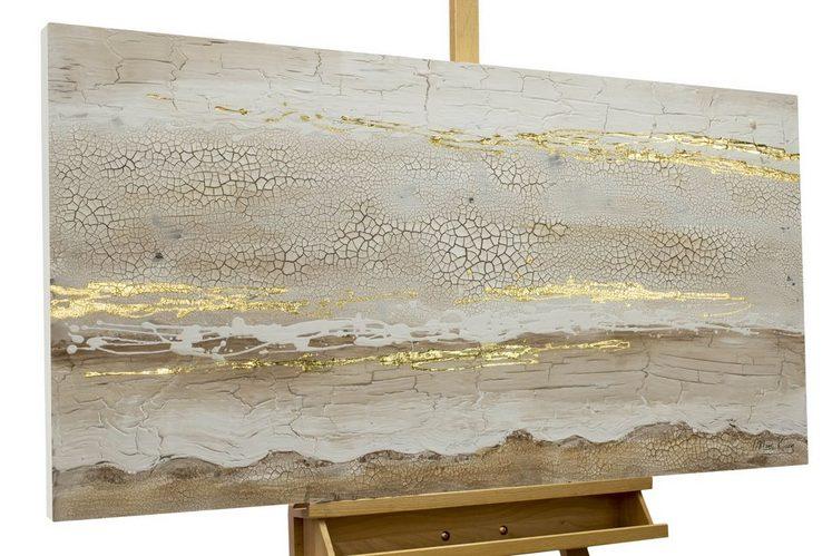 KUNSTLOFT Gemälde »Melodie der Wüste«, handgemaltes Bild auf Leinwand
