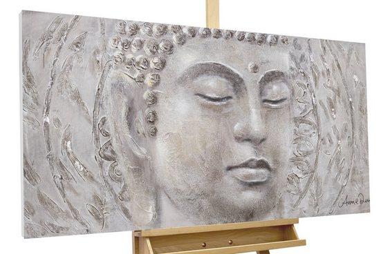 KUNSTLOFT Gemälde »Find your Inner Peace«, handgemaltes Bild auf Leinwand