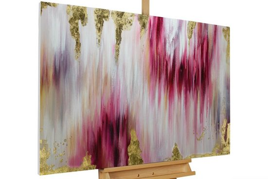 KUNSTLOFT Gemälde »Paradigmen«, handgemaltes Bild auf Leinwand
