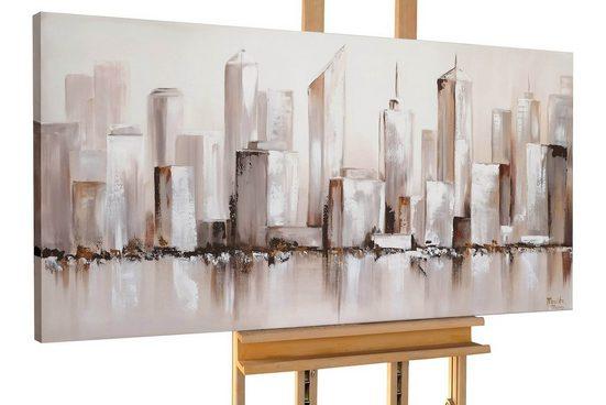 KUNSTLOFT Gemälde »Reach the Top«, handgemaltes Bild auf Leinwand
