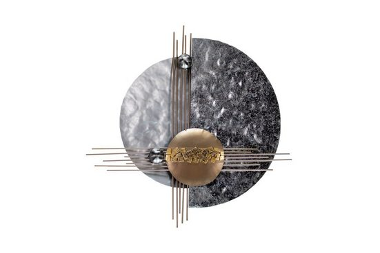 KUNSTLOFT Metallbild »Die bessere Hälfte«, handgefertigte Декор стен aus Metall