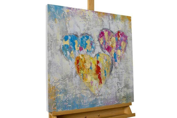 KUNSTLOFT Gemälde »Ein Herzenswunsch«, handgemaltes Bild auf Leinwand
