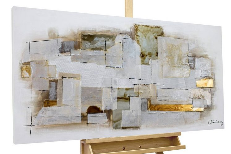 KUNSTLOFT Gemälde »Endlessness«, handgemaltes Bild auf Leinwand