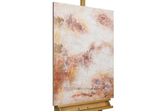 KUNSTLOFT Gemälde »Via Rose Lenses«, handgemaltes Bild auf Leinwand