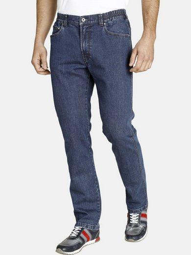 Jan Vanderstorm Bequeme Jeans »LOYD« mit bequemen Raffbund