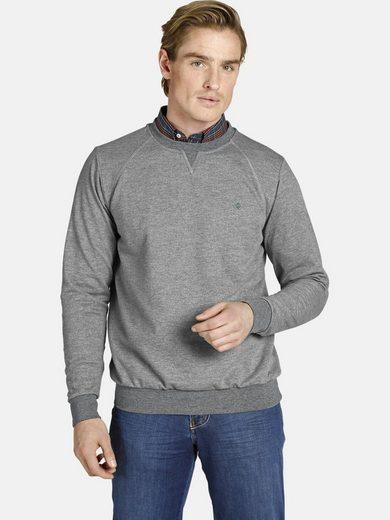 Charles Colby Sweatshirt »EARL LINAS« Basic im Preppy-Chic