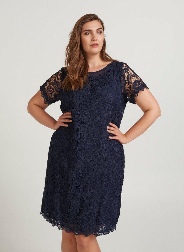 Festtagsmode - ZAY Abendkleid Damen Große Größen Spitzenkleid Elegant Spitze Abendkleid Kleid ›  - Onlineshop OTTO
