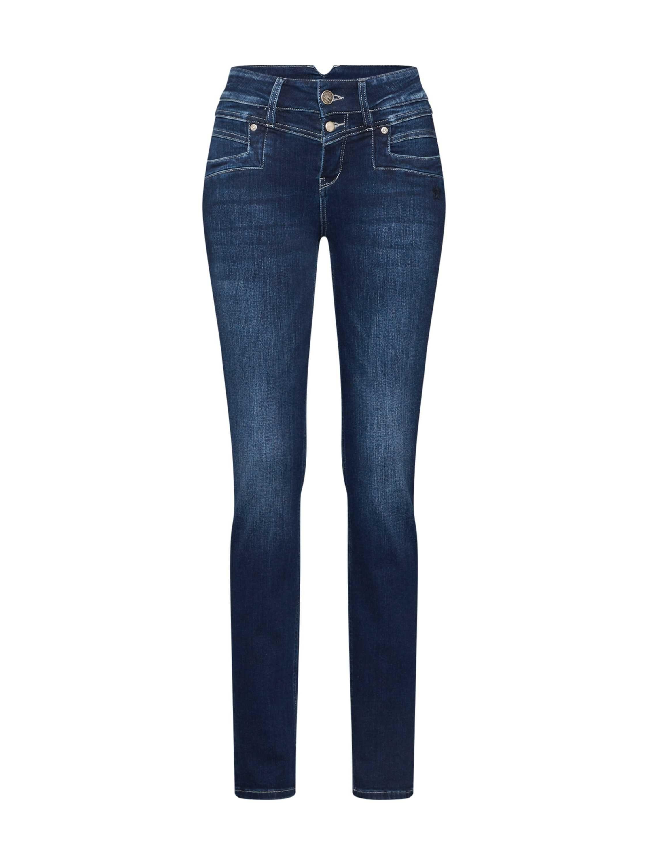 MELLY /& CO Jeans Hose Streifen Metallperlen stretched Damen schwarz  Gr S M L XL