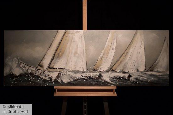 KUNSTLOFT Gemälde »Helden der See«  handgemaltes Bild auf Leinwand