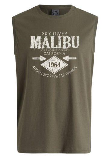AHORN SPORTSWEAR Tanktop mit Malibu-Print
