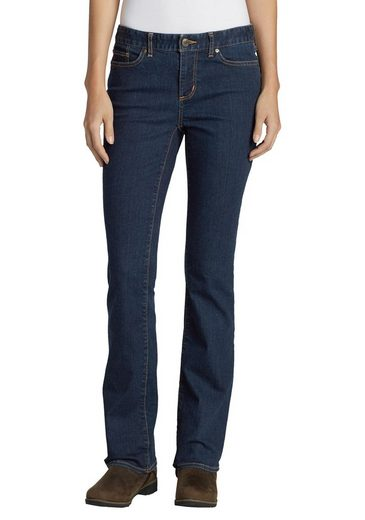 Eddie Bauer Bootcut-Jeans StayShape® -Slightly Curvy