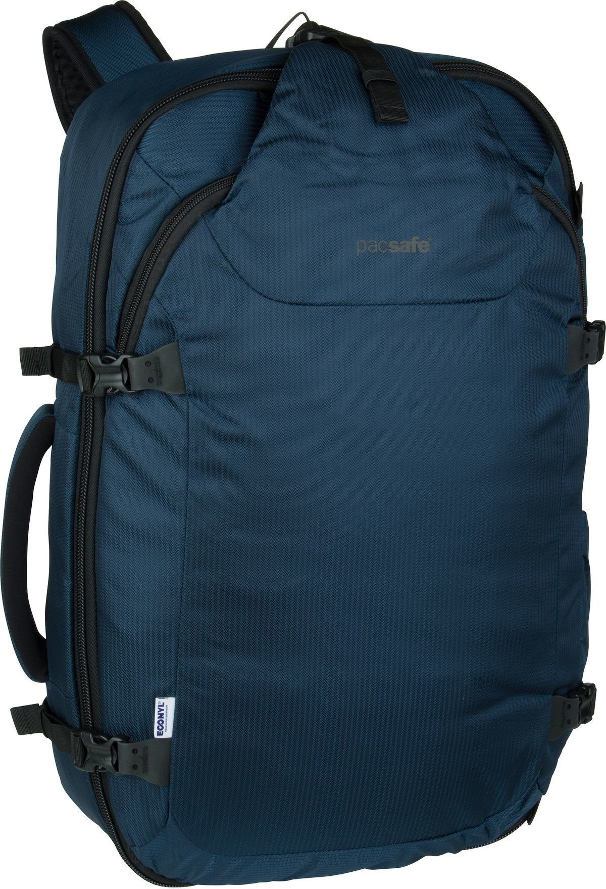 Unisex Pacsafe Rucksack / Daypack »Venturesafe EXP45 ECONYL« blau   00688334055608