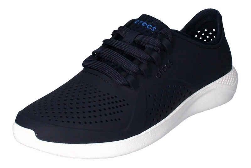 Crocs »LiteRide Pacer« Sneaker Weiß Marine Blanc 462