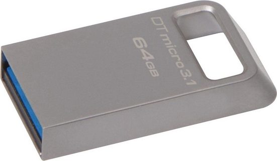 Kingston »DataTraveler Micro 3.1« USB-Stick (USB 3.0)